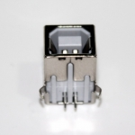 USB type B Right Angle(90 Degree) Female PCB Connector Socket USB Jack Plug