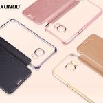 Samsung Galaxy S7 Edge - เคสฝาพับหนัง XUNDD