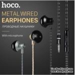 หูฟัง HOCO M18 Metal Earphone Universal Wire-Control แท้