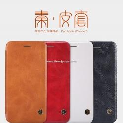 iPhone 6 Plus / 6s Plus - เคสฝาพับ หนัง Nillkin QIN Leather Case แท้