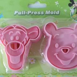 พิมพ์กดคุ้กกี้รูปทิกเกอร์+หมีพูห์