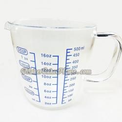ถ้วยตวงแก้วบอโรซิลิเกตหลายสเกล