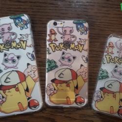 iPhone 5 / 5s / SE - เคสใสลาย Pokemon All Friend
