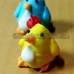 ตุ๊กตาไอซิ่งรูปไก่ ( 20 ชิ้น )