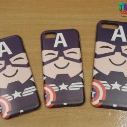 iPhone 8 / 7 - เคส TPU ลาย Captain America