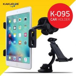 KAKUDOS K-095 Car Holder ที่วาง Tablet iPad บนรถยนต์ เกาะแน่นทุกการเดินทาง แท้