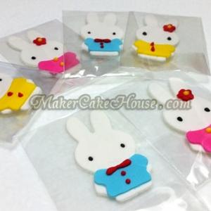 กัมเพสรูปกระต่าย ( 6 ชิ้น )