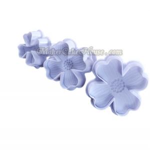พิมพ์กดลายฟองดอง / พิมพ์กดคุกกี้ ดอกไม้ฤดูใบไม้ผลิ