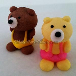 ตุ๊กตาไอซิ่งรูปหมีตัวใหญ่ ( 12 ชิ้น )