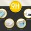 Samsung S7 Edge (เต็มจอ) - กระจกนิรภัย P-One 9H 0.26m ราคาถูกที่สุด thumbnail 9