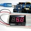 LED Voltage Meter Mini Digital Voltmeter DC 5-28V สีแดง thumbnail 1