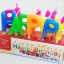 เทียนวันเกิดตัวอักษร HAPPY BIRTHDAY thumbnail 1
