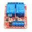 บอร์ด Relay 2 ช่อง 5V relay 5v แบบ Active High/Low 10A 250V สำหรับ Arduino และ Microcontroller thumbnail 4