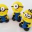 ตุ๊กตาไอซิ่งรูปมินเนี่ยน Minions ขนาดใหญ่ ( 10 ชิ้น ) thumbnail 1