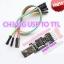 USB TTL CH340 USB Downloader Module พร้อมสายเบิร์น thumbnail 1