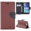 Samsung Note7 / Note FE - เคสฝาพับ Mercury Goospery Fancy Leather Case cover แท้ thumbnail 6
