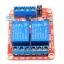 บอร์ด Relay 2 ช่อง 5V relay 5v แบบ Active High/Low 10A 250V สำหรับ Arduino และ Microcontroller thumbnail 3