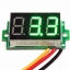 ดิจิตอล โวลต์มิเตอร์ 0 ถึง100 โวลต์ จอขนาด 0.36 นิ้ว สีเขียว Mini 3 Digital LED DC 0 -100 Volt thumbnail 1