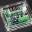 XH-W1209 digital thermosta shell acrylic กล่องอะคริลิคสำหรับโมดูล W1209 thumbnail 1
