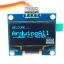 """จอแสดงผล OLED 128x64 แบบ I2C ขนาด 1.3"""" สีน้ำเงิน OLED Display I2C Module Blue 1.3"""" for Arduino thumbnail 1"""