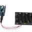 รางถ่าน AA ขนาด 6 ก้อน 9V พร้อมแจ๊กถ่าน สำหรับ Arduino 6 pcs AA Battery case for arduino thumbnail 2