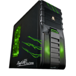 Case Tsunami King Wolf [Black Green]