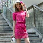 M5805197 / S M L / 2015 Hiend Design Fashion dress พรีออเดอร์เดรสแฟชั่นงานเกรดยุโรป สวยดูดีมีสไตล์ นางแบบใส่ชุดจริง เป๊ะเว่อร์!