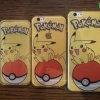 iPhone 6, 6s - เคสใสลายปิกาจู Pikachu Pokeball Pokemon