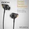 ROCK ZIRCON หูฟัง Stereo Earphone (สุดแจ่ม เสียงดีมากกก ใส่นานไม่เจ็บหู) แท้