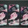 iPhone 6, 6s - เคสปิดขอบ ลายนกฟลามิงโก (Greater flamingo)