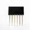 Stackable Header for arduino 2.54MM 6Pin 10MM Long Needle Female 1x6