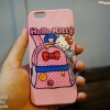 เคสนิ่ม TPU ลาย HELLO KITTY BAG ชมพู - iPhone 6