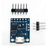 Kickstarter Digispark Arduino บอร์ดพลังจิ๋ว ATTiny85 Digispark Development Board ATtiny85 Digispark ATtiny85