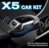 X5 CAR KIT Bluetooth Car Charger FM แปลงเครื่องเสียงในรถให้ล้ำ แท้