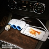 HOCO Multipurpose Car Charger ที่ชาร์จในรถ+เพิ่มช่องจุดบุหรี่ แท้