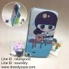 Samsung Galaxy Note2 - เคส Face Idea ลายผู้หญิงเล่นกีตาร์ริมน้ำ