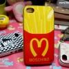 iPhone 4, 4S - เคส Face Idea ลาย เฟรนฟราย (Moschino)