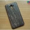 Huawei Mate9 - เคสแข็ง ลายไม้ สีดำ