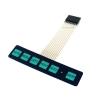 Keypad 6 Key พร้อม LED Membrane Switch Keypad with LED