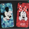 iPhone 6 Plus, 6s Plus - เคส TPU ลาย Mickey Blue & Minnie Red