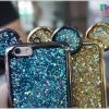 iPhone 6, 6s - เคสยาง TPU Glitter ฟรุ้งฟริ้ง Mickey Mouse
