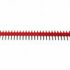 ก้างปลา 40 ขา สีแดง 2.54mm Red Single Row Male 1X40 Copper Pin Header Strip