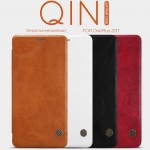 OnePlus 3, OnePlus 3T - เคสฝาพับ หนัง Nillkin QIN Leather Case แท้