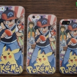 iPhone 5, 5s, SE - เคส Pokemon Go ลายเหล่าเทรนเนอร์