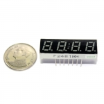 "7 Segment 0.28"" Common Anode 4 digit clock Red ไฟ 7 segment 0.28"" 4 หลัก สีแดงพร้อมจุดนาฬิกา แบบไฟบวกร่วม a481BH"