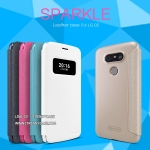 LG G5, G5 SE - เคสฝาพับ Nillkin Sparkle leather case แท้