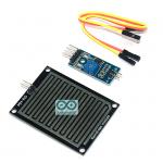 เซนเซอร์น้ำฝน ความชื้น Rain / Water Detection Sensor Module พร้อมสายไฟ
