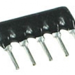 1/8W 4.7K 5Pins A type 5% RESISTOR NETWORK จำนวน 2 ตัว