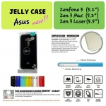 Asus ZenFone 3 Laser - เคส TPU Mercury Jelly Case (GOOSPERY) แท้