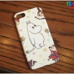 iPhone 7 - เคสแข็งปิดขอบ ลาย Moomin and Friend